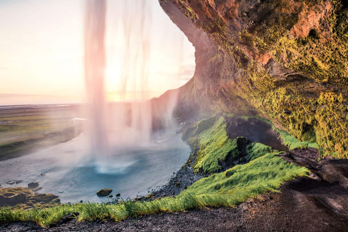 Seljalandsfoss is one of many day tours in Iceland