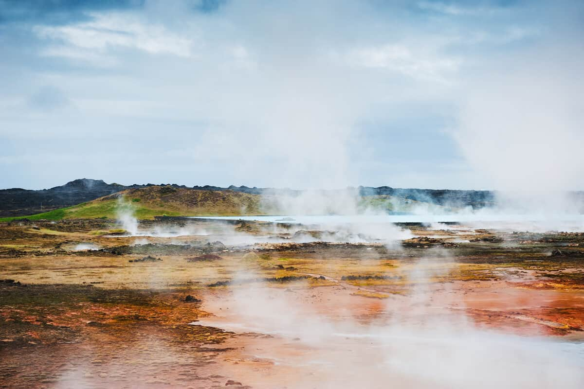 Reykjanes Peninsula geothermal zone