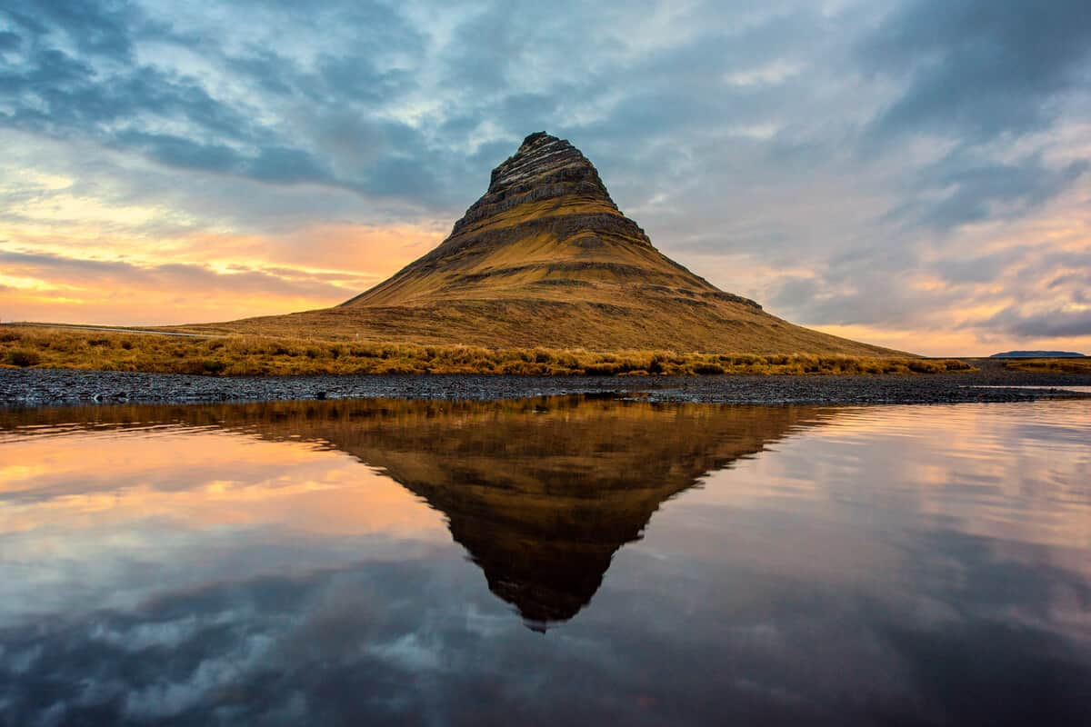 Iceland photography Kirkjufell mountain