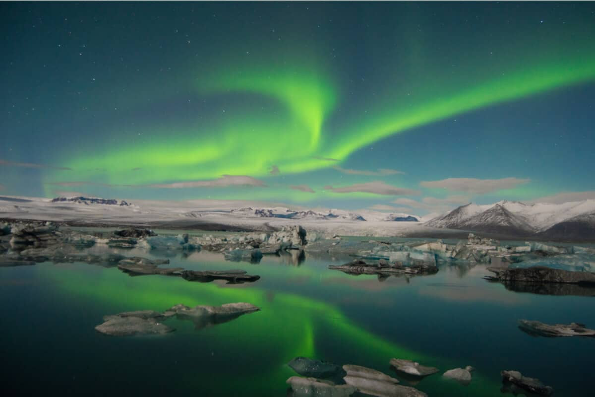 Iceland photography of the Northern Lights